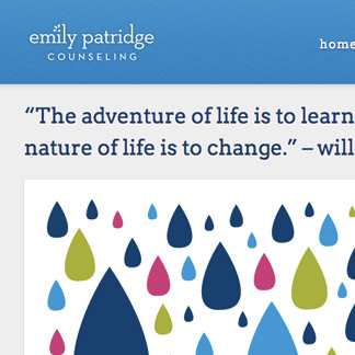 Emily Patridge Website